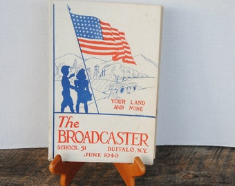 1940 June The Broadcaster Public School 51 Buffalo New York