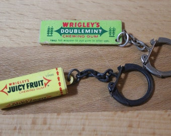Vintage advertising for Wrigley's gum Key chains -2