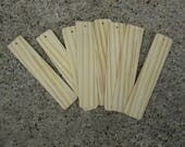 Custom Order for 10 each wooden book markers