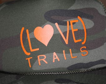 ready- to ship, 55% OFF****LOVE TRAILS trucker hat (as pictured)