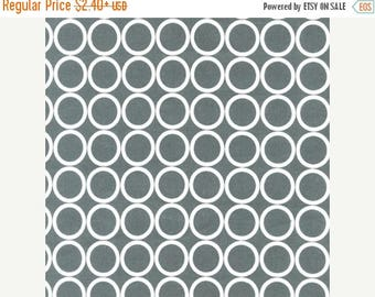 SUMMER SALE Fat Quarters ONLY - Pewter Grey Metro Living From Robert Kaufman