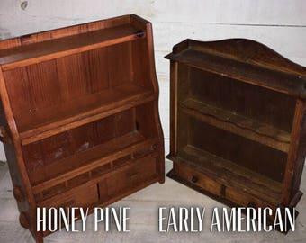 Vintage spice cabinet, spice rack, vintage cupboard