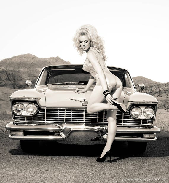 "Gia Genevieve ""Hot Rod Goldie 2"" 11x14 Print"