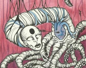 Anti Valentine original art