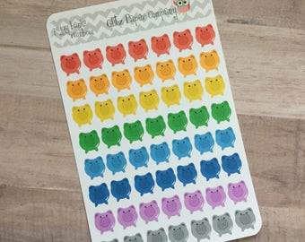 Colorful piggy bank savings Stickers
