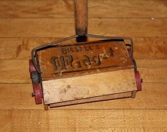 Vintage Bissell Midget Carpet Sweeper 1920s