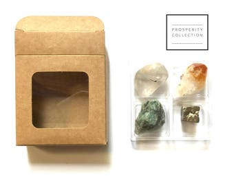 PROSPERITY COLLECTION ---  Rox Box  --- crystal, gemstone gift