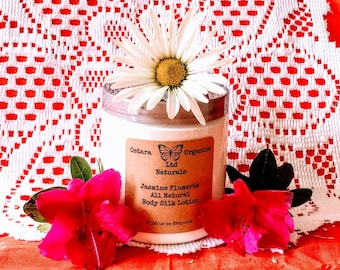 Jasmine Plumeria Lotion, Jasmine Plumeria, All Natural Lotion, Jasmine Body Lotion, Jasmine Hand Lotion, Skin Moisturizer, Organic Lotion