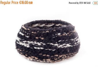 ON SALE WOOLY nest bowls - attractive + practical, polychromatic bowls - black, cream, brown*