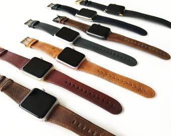 Apple watch band 42mm, Apple watch band, Apple Watch Strap, Apple watch leather, Apple watch, Wearable technology, Wearable tech,iWatch Band