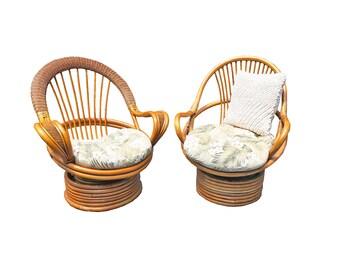 Bamboo Chair Set