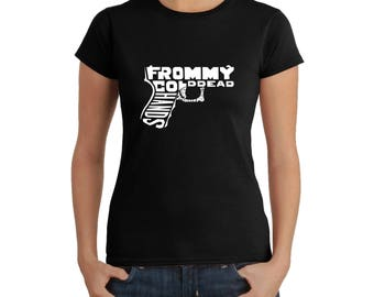 Women's T-shirt - Created using The Words From My Cold Dead Hands Gun