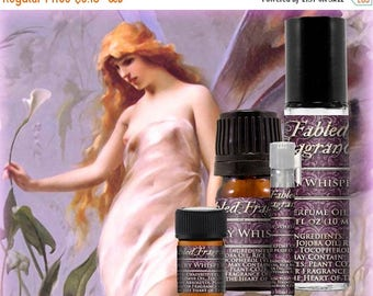 SALE FAIRY WHISPERS Perfume: Fantasy Fragrance, Ripe Raspberry, Asian Pear, Sweet Frangipani, Vegan Solid Perfume, Ships Out in 5-7 Days