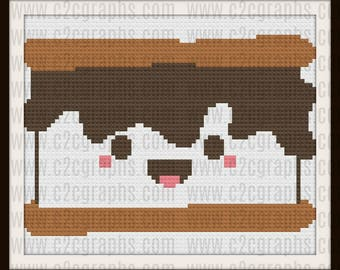 Smores Baby C2C Graph, Smores Baby Small Afghan, Smores Baby Crochet Pattern
