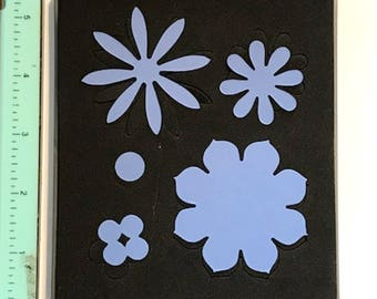 Sizzix Stampin Up Blossom Party Originals Die 115971 - Cleaned and Tested
