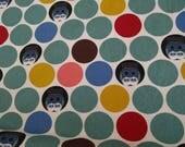 100% Premium Organic Cotton Canvas Family Owlbum Charley Harper for Birch penguin fabric 1/2 yard
