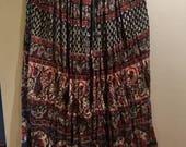 SAIOA Indian gauze long skirt