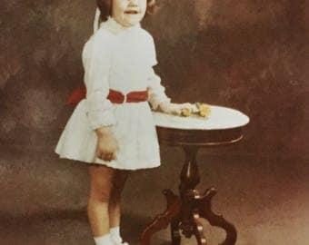 Original Vintage Color Photograph Becky 1969