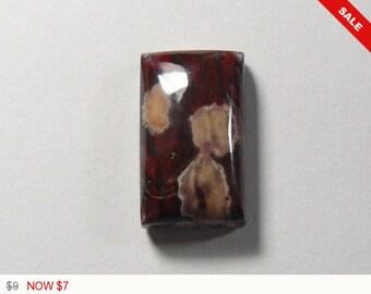Rare Hornitos Poppy Cabochon, designer cabochon, gemstone cabochons, flat back cabochons, natural stone cabochons, small cab (ho10561)