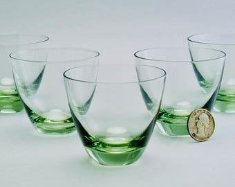5 MCM Vintage Sven Palmqvist Glasses for Orrefors Sweden