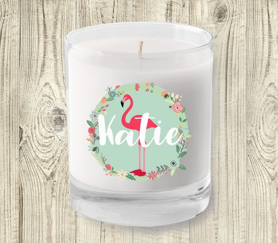 Gift For Tween Girls - Personalized Scented Candle
