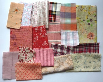 set of fabrics for patchwork 254 coupons