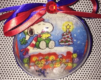 snoopy christmas ornament - Snoopy Christmas Ornament