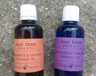 Massage / Bath oils