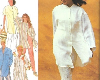 Style 2416 Misses Oversized Shirts And Pants Sewing Pattern, Trousers, Size  8-18, UNCUT