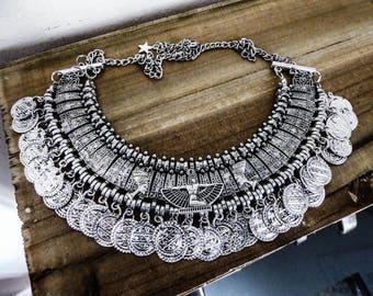 Necklace silver Egyptian Ankh Boho Chic ♠ Cleopatra 2 ♠