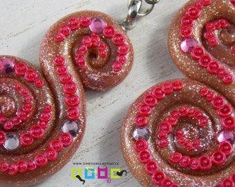 Octopus Tentacle Inspired Dangle / Chandelier Earrings - Oh Drama
