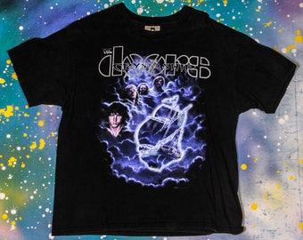 The DOORS Crystal Ship Rock T-Shirt Size L