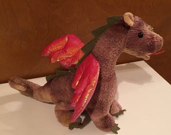 Scorch, the Beanie Baby Dragon.
