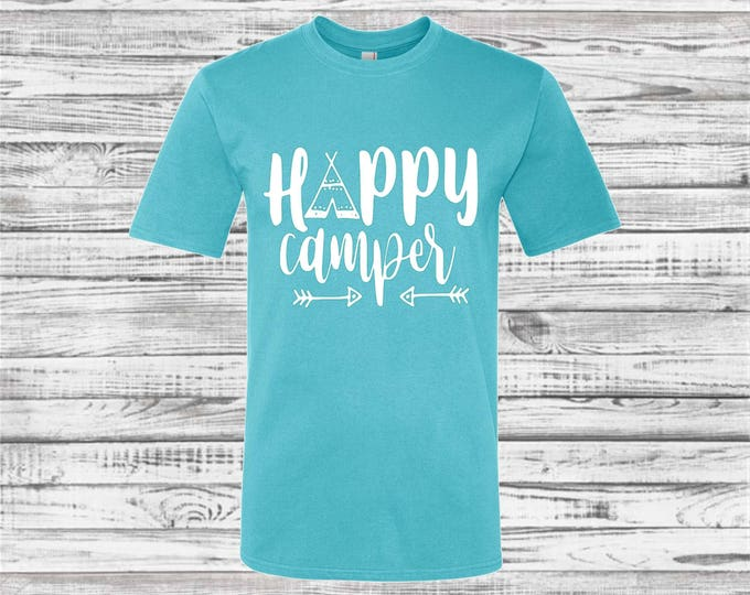 Custom Camping Shirts, Camping tee shirts, Camper Tee Shirt, Teepee, Road Trip, Camping Trip, Mountains, Hiking, Adventure, Road Trip Shirts