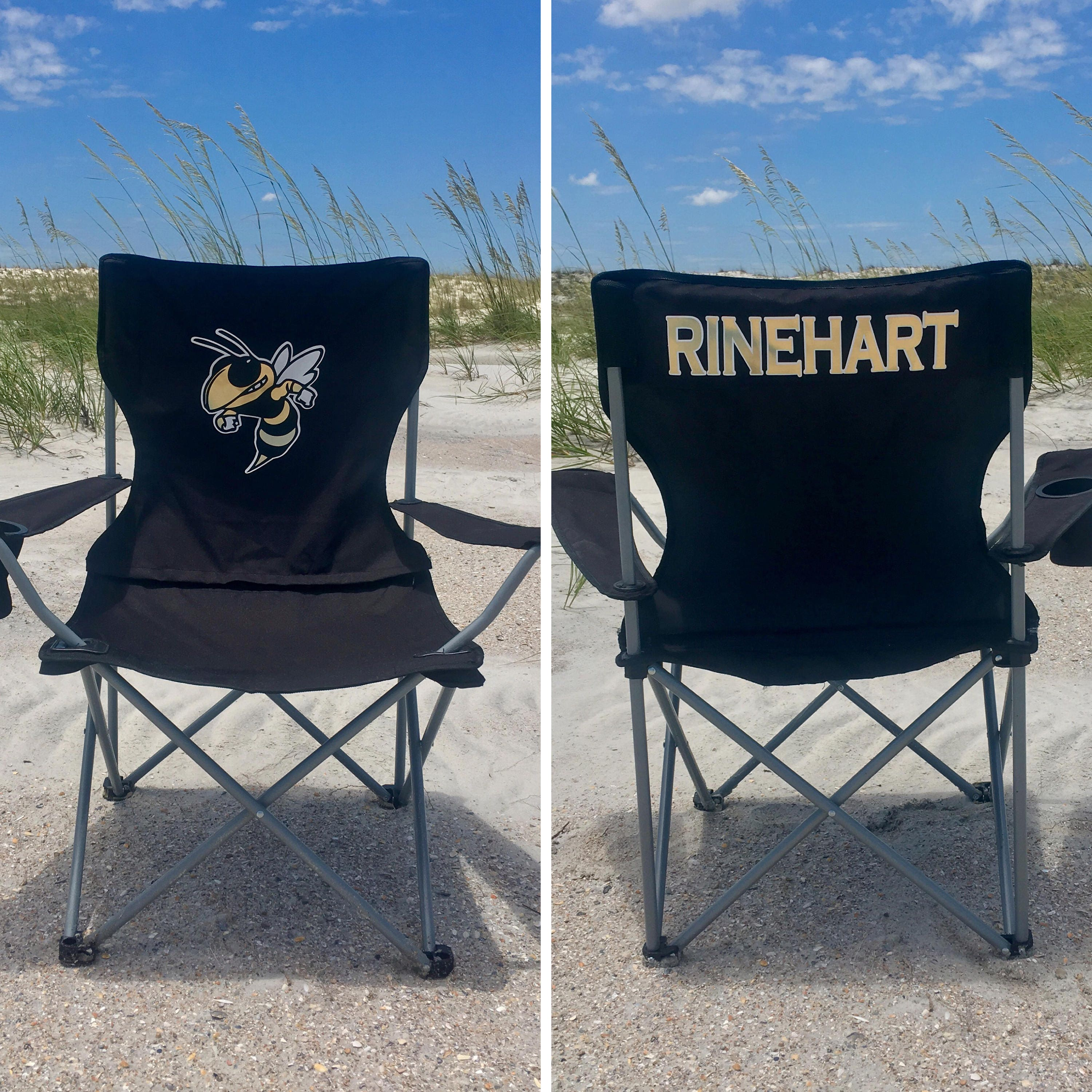 Personalized Chair Coaches Gift Custom Folding Camp Chair RV