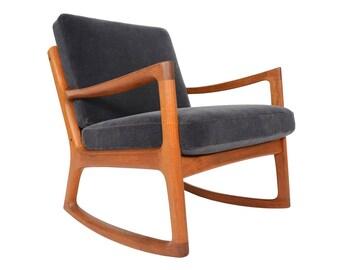 Danish rocking chair Etsy