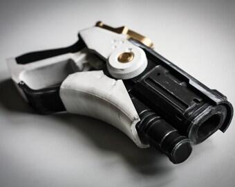 Overwatch Mercy Gun | Overwatch Mercy Caduceus Blaster | Overwatch Cosplay Gun Prop