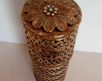Vintage Ormolu Gold Gilded