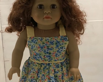 18 In Doll Sundress with Hat