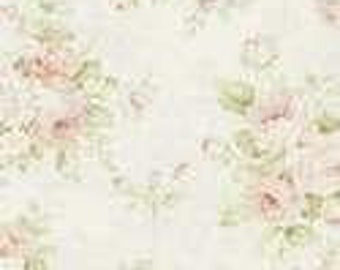 Shabby Chic Vintage Roses Curtains or Valance