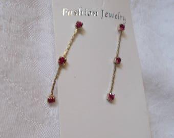 Beautiful Rhinestone Earrings-R3842