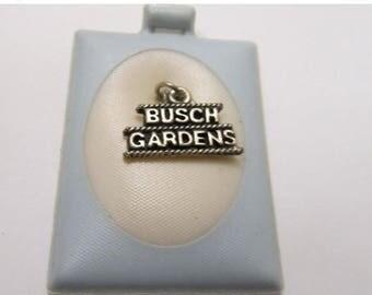 ON SALE Vintage Busch Gardens Costume Charm Item K # 1806