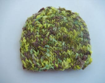 hand knitted baby hat / soft to touch knitted hat / baby cap / newborn cap