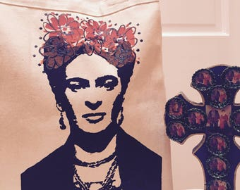 ViVa! Frida Kahlo tote bag