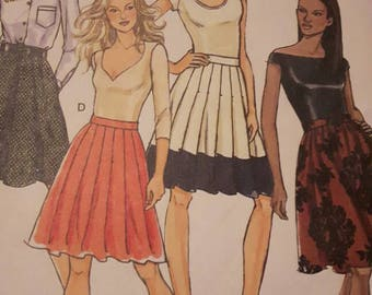 Butterick 3968 Women's Skirt Sewing Pattern
