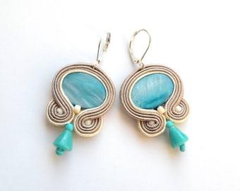 Earrings-soutache earrings-boho-soutache-ethnic-Lagoon