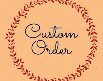 Custom Order for Diamonds
