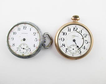 Your CHOICE - Non-Working Watch - Waltham Sidewinder OR Hampden -  Pocket Watches - Watches Repair - Listing History