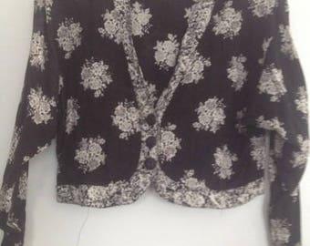 1990's crop jacket