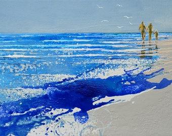 "NANTUCKET WALL ART, Nantucket paintings, Nantucket prints, painting of Nantucket, wall art ""Ocean Breezes, Nantucket"" by Melanie McDonald"